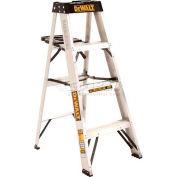 DeWalt Type 1A Aluminum Step Ladder - 4' - DXL2010-04