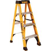 DeWalt Type 1A Fiberglass Step Ladder- 4' - DXL3010-04