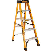 DeWalt Type 1A Fiberglass Step Ladder - 5' - DXL3010-05