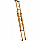 DeWalt Type 1A Fiberglass Extension Ladder - 16' - DXL3020-16PT