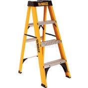 DeWalt® Type 1 Fiberglass Step Ladder - 4' - DXL3110-04