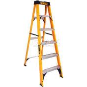 DeWalt Type 1 Fiberglass Step Ladder - 7' - DXL3110-07