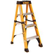 DeWalt Type 1AA Fiberglass Step Ladder- 4' - DXL3410-04