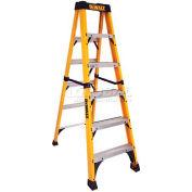 DeWalt Type 1AA Fiberglass Step Ladder- 6' - DXL3410-06