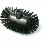 "LPD Trade ESD Conductive Tank Brush, Base only, Stiff Bristles, 4-5/7"", Black - C27154"