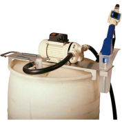 Drum Topper System - 12 VDC 55 Gallon W/Manual Nozzle
