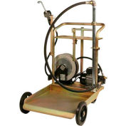 Electric Oil Transfer Cart - 55 Gallon Drums W/25' Reel