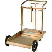 Liquidynamics™ HD 4 Wheel Drum Cart 51009C for 420 Lb. - 55 Gallon Drums