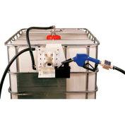 Closed IBC Transfer System 14 GPM Pump W/12' Hose - Manual Nozzle
