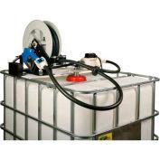 Closed IBC Transfer System 10 GPM Pump W/25' Hose- Manual Nozzle