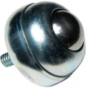"""Ashland Threaded 5/16-18 Stud Ball Transfer BT S 5/16-18 1DIA 75 CS/CS 1""""Dia Carbon Steel Ball 75 Lb"""