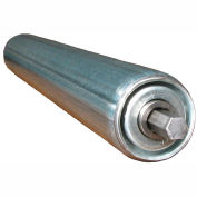 "Ashland Galvanized Steel Replacement Roller KG27 AB1 1.9"" Dia. x 16 Ga. - 27""BF - 7/16"" Hex ABEC"