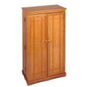 Mission Style Multimedia Storage Cabinets Oak