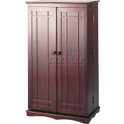 Mission Style Multimedia Storage Cabinets Cherry