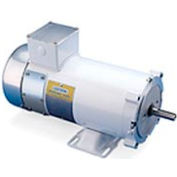Leeson Motors Washdown DC Motor-1/4HP, 180V, 1750RPM, TENV, Rigid C
