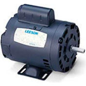 Leeson Motor-1/2HP, 115/208-230V, 1725RPM, DP, Rigid Mt, 1.25 SF, 62 Eff