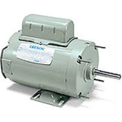 Leeson Motors - 1/3HP, 115/230V, 1625RPM, TENV, Rigid Mount, 1.0 S.F.