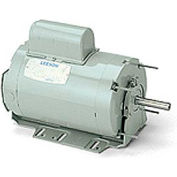 Leeson Motors - 1/4HP, 115/230V, 1625RPM, TENV, Resilient Base Mount, 1.0 S.F.