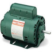 Leeson Motor-1/3HP, 115V, 1725RPM, DP, Resilient Base Mount, 1.35 SF, 75 Eff.