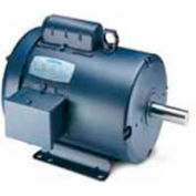 Leeson Motors Single Phase General Purpose Motor 1/2HP, 1725RPM, 56, TEFC, 115/208-230V, 60HZ, Auto