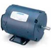Leeson 102920.00, Standard Eff., 0.33 HP, 1725 RPM, 208-230/460V, S56, TENV, Rigid