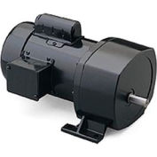 Leeson Motors Motor Gearmotor-Parallel Shaft, 59RPM, 1/4HP, TEFC, 115/208-230V, AC