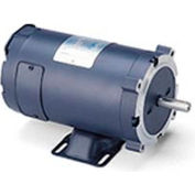 Leeson Motors DC Motor-1/3HP, 24V, 1800RPM, TENV, Rigid C