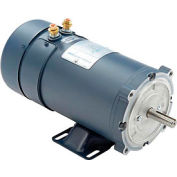 Leeson Motors DC Motor-1HP, 12V, 1800RPM, TEFC, Rigid C