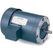 Leeson 110176.00, Standard Eff., 0.5 HP, 1725 RPM, 575V, C56C, TENV, C-Face Footless