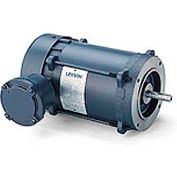 Leeson Motors Single Phase Explosion Proof Motor 1HP, 3450RPM, 56, EPFC, 60HZ, Automatic, Round