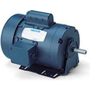Leeson Motors-1HP, 115/208-230V, 1725RPM, TEFC, Resilient Mount, 1.15 SF, 75 Eff.