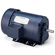 Leeson 111918.00, Standard Eff., 1 HP, 1725 RPM, 208-230/460V, 56, TEFC, Resilient Base