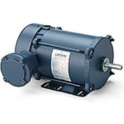Leeson Motors - 1/3HP, 208-230/460V, 1725/1425RPM, EPNV, Rigid Mount, 1.0 S.F.