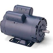 Leeson Motors-1.5HP, 115/208-230V, 3450RPM, DP, Rigid Mount, 1.15 SF, 82.5 Eff.