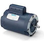 Leeson Motors Single Phase Pump Motor 1HP, 3450RPM, 56, TEFC, 115/208-230V, 60HZ, Auto, 40C, 1.25SF
