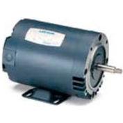 Leeson Motors 3-Phase Pump Motor 3HP, 3450RPM, 56, DP, 208-230/460V, 60HZ, 40C, 1.15SF, C Face