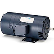 Leeson Motors - 3/4HP, 208-230/460V, 1725RPM, DP, Rigid Mount, 1.25 S.F.