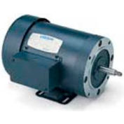 Leeson Motors 3-Phase Pump Motor 3HP, 3450RPM, 56H, DP, 208-230/460V, 60HZ, 40C, 1.15SF, Rigid C