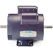 Leeson Motors - 1HP, 115/208-230V, 3450RPM, DP, Rigid Mount, 1.25 S.F.