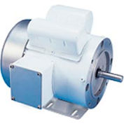 Leeson Motors Motor Washdown Motor-2HP, 115/208-230V, 3450RPM, TEFC, RIGID C, 1.0 SF, 73 Eff.