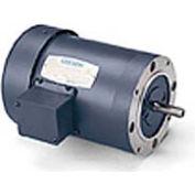 Leeson 114638.00, Premium Eff., 1 HP, 1760 RPM, 208-230/460V, 56C, TEFC, C-Face Footless