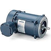 Leeson Motors - 1.5/1HP, 208-230/460V, 3450/2850RPM, EPFC, Round Mount, 1.0 S.F.