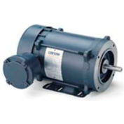 Leeson Motors Single Phase Explosion Proof Motor 1HP, 3450RPM, 56, EPFC, 60HZ, Automatic, 1.0SF