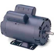 Leeson Motors Single Phase General Purpose Motor 2HP, 1740RPM, 56H, DP, Manual, Rigid
