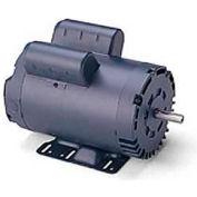 Leeson Motors Single Phase General Purpose Motor 5HP, 3450RPM, 56H, DP, 230V, 60HZ, Manual, 1.0SF