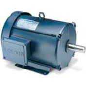 Leeson Motors 3-Phase Multi-Speed Motor 1.5/.37HP, 1725/850RPM, 145, TEFC, 60HZ, 40C, 1.0SF, Rigid