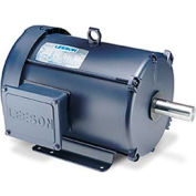 Leeson Motors - 1.5/.37HP, 208-230V, 1725/850RPM, TEFC, Rigid Mount, 1.0 S.F.