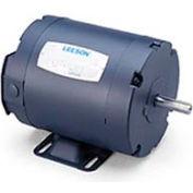 Leeson 121098.00, Standard Eff., 1 HP, 1740 RPM, 208-230/460V, 143T, TENV, Rigid