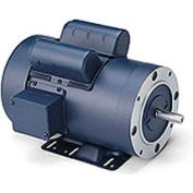 Leeson Motors - 2HP, 115/208-230V, 1740RPM, TEFC, Rigid C Mount, 1.0 S.F.