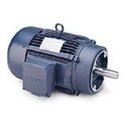 Leeson G131492.00, High Eff., 5 HP, 1740 RPM, 208-230/460V, 184TC, TEFC, C-Face Footless